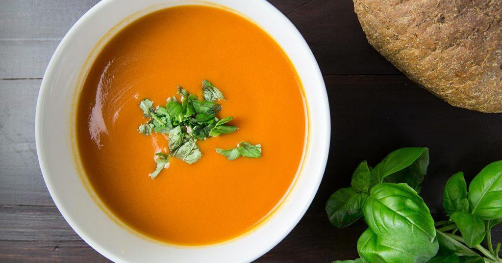 soupe de carotte pour un régime